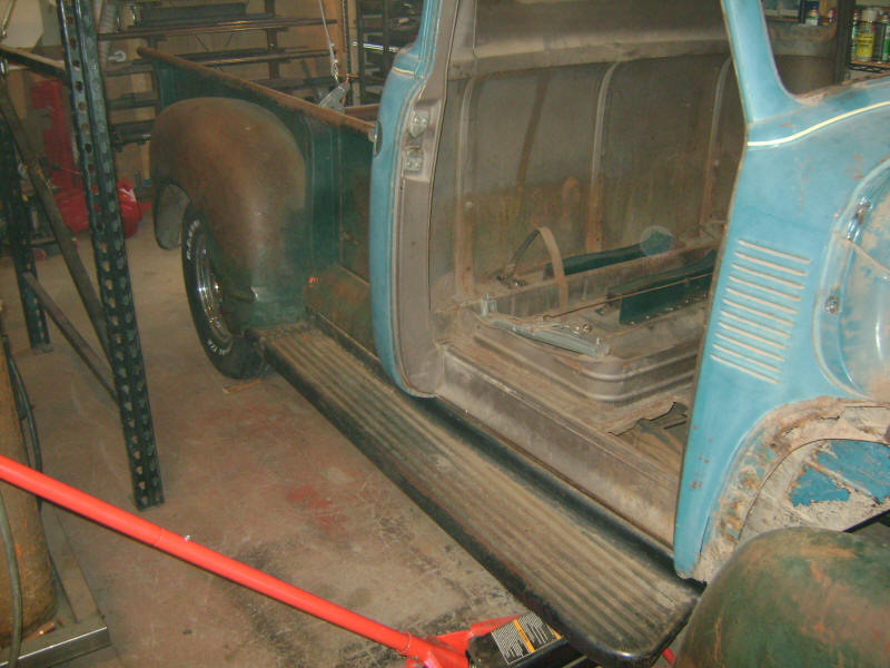 Welcome to the 1953 Chevy Truck Project