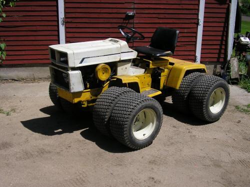 4x4 Cub Cadet Garden Tractors : Cub cadet wd