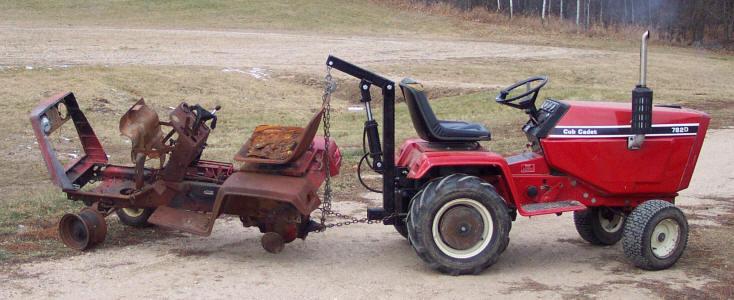 782 Cub Cadet Garden Tractor : Cub cadet